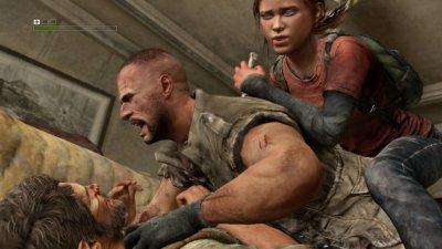 Необработанные скриншоты The Last of Us