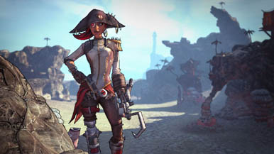 Borderlands 2: Анонс сюжетного дополнения Captain Scarlett and her Pirate's Booty (Обновлено)