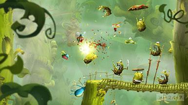 Rayman Legends - игровой процесс и скриншоты