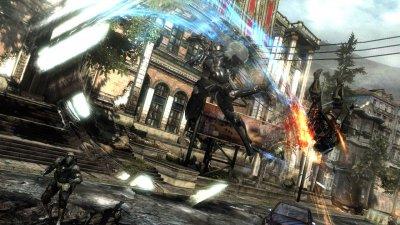 Metal Gear Rising: Revengeance - Новые арты и скриншоты