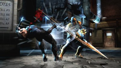 Трейлер Injustice: Gods Among Us - Deathstroke (Обновлено)
