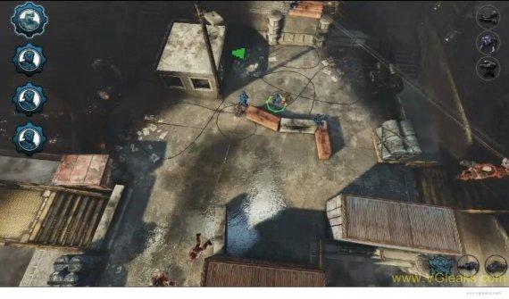 Скриншоты стратегии по вселенной Gears of War