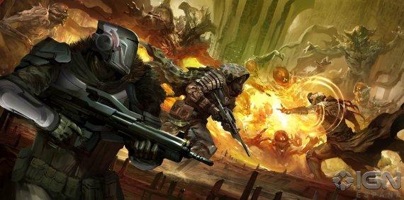Анонс Destiny - Дебютное видео, арты, подробности