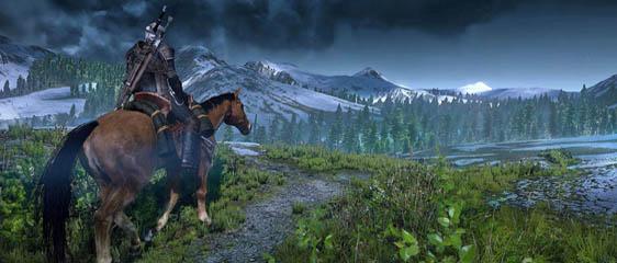 О квестах и лошади в The Witcher 3: Wild Hunt