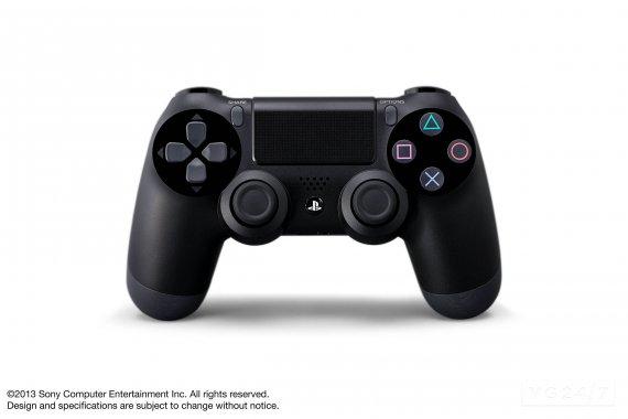 Спецификации PS4. Официальные изображения Dualshock 4 и камеры 4 Eye