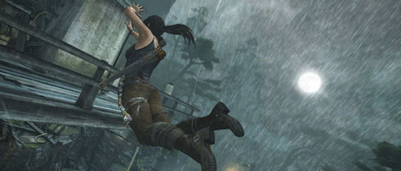 Сравнение графики Tomb Raider на всех платформах