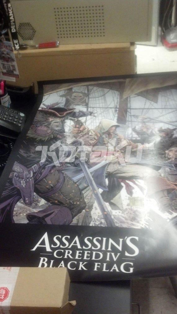 Постер и скриншот Assassin's Creed 4: Black Flag (Обновлено)