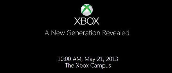 Microsoft: Новый Xbox будет представлен 21 мая 2013 года
