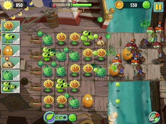 Анонс и трейлер Plants vs Zombies 2: It's About Time