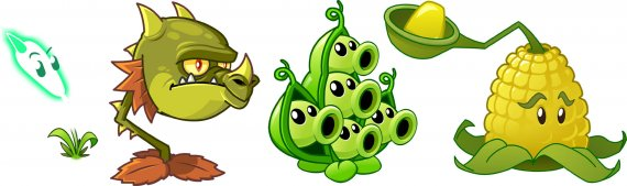 Скриншоты Plants vs Zombies 2: It's About Time