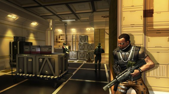 Анонс Deus Ex: The Fall. Видео и скриншоты