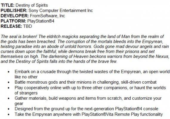 Новые слухи о ролевой игре Destiny of Spirits