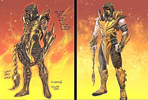 Injustice: Gods Among Us: Scorpion DLC