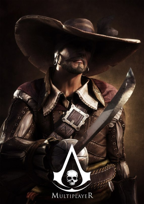 Assassin's Creed 4: Black Flag. Арты персонажей мультиплеера