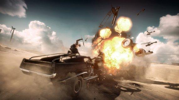 Анонс постапокалиптического экшена Mad Max. Трейлер. Скриншоты