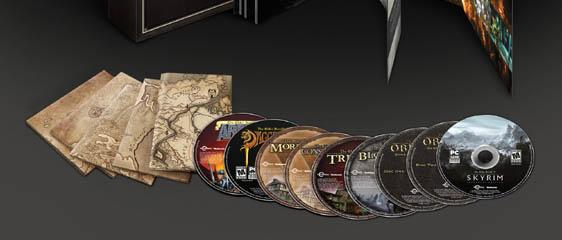 Собрание The Complete Elder Scrolls Collection для PC