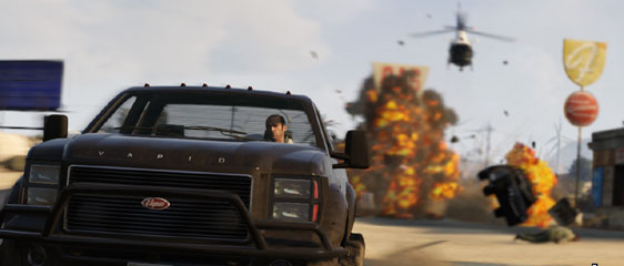 GTA 5 - Выбираем губернатора штата San Andreas. Трейлеры