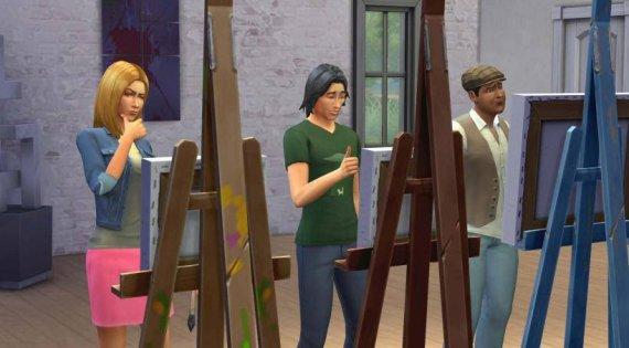Дебютные скриншоты The Sims 4