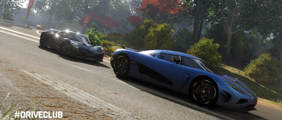 Несколько геймплейных роликов DriveClub в разрешении 1080p