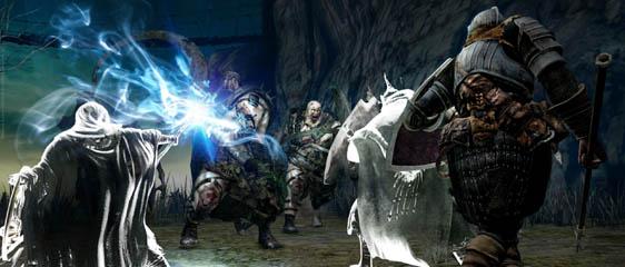 Геймплей Dark Souls 2 из бета-теста