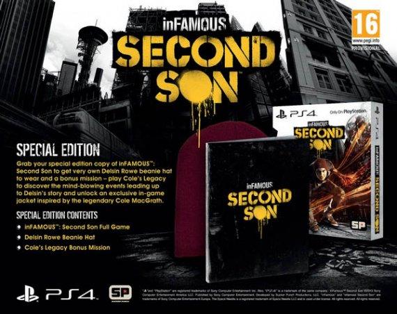 Состав специальных изданий inFamous: Second Son