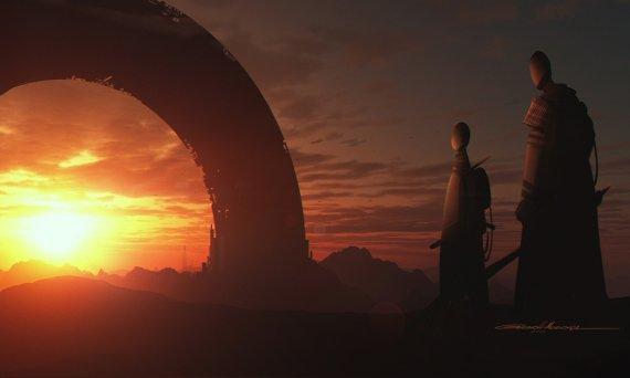 Новые арты отменённой Star Wars 1313