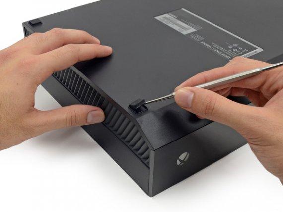 Фотографии разобранной Xbox One. Новое видео