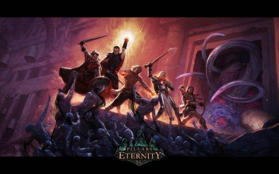 Дебютный трейлер Project Eternity. Игра переименована в Pillars of Eternity