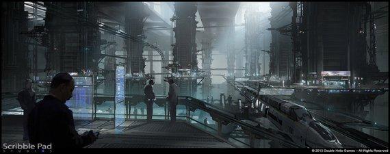 Арты фантастического проекта от Double Helix Games