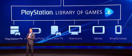 Анонс сервиса стриминга Playstation Now. Запуск в США летом 2014 года