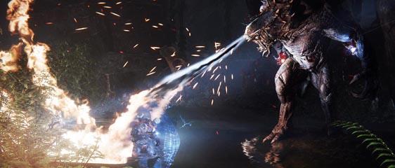 Дебютные скриншоты Evolve - Монстр Голиаф