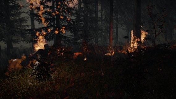 Подборка скриншотов хоррора The Forest