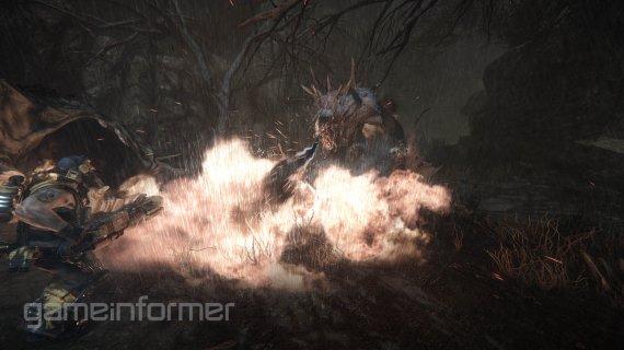 Новая подборка скриншотов Evolve