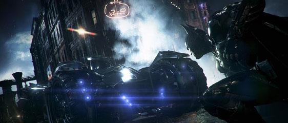 Новый трейлер Batman: Arkham Knight - Бэтмобиль. Перенос релиза