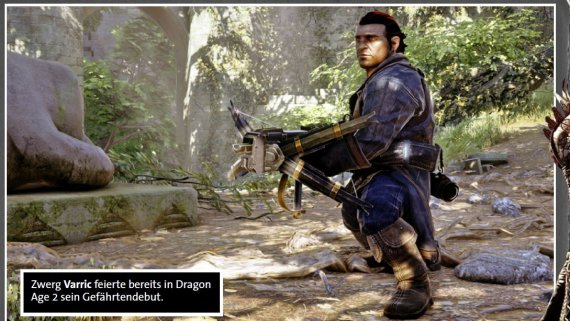 Сканы Dragon Age: Inquisition из журнала Gamestar
