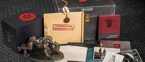 Состав издания Wolfenstein: The New Order Panzerhund Edition (Обновлено)
