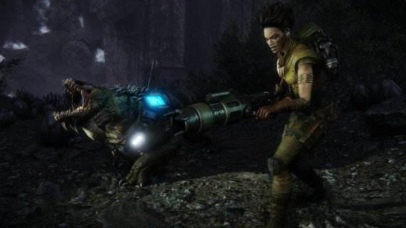 Новый геймплей, скриншоты и дата выхода Evolve