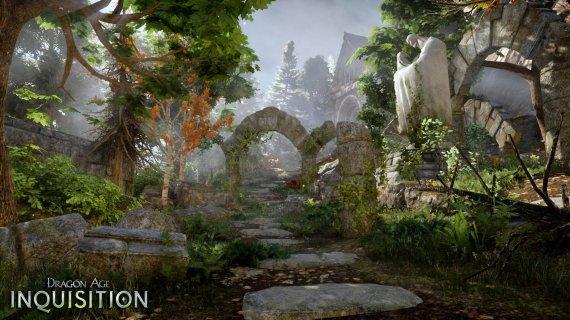 Снова новые скриншоты Dragon Age: Inquisition - Зелень