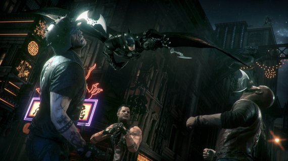 Новый геймплей и скриншоты Batman: Arkham Knight