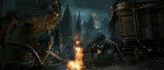 Немного подробностей идейного наследника Dark Souls - Bloodborne