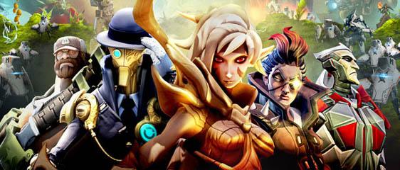Анонс игры Battleborn от студии Gearbox Software