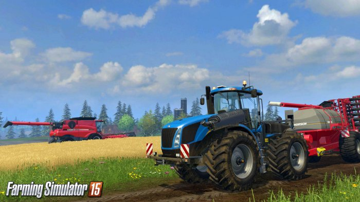 Дебютные скриншоты и трейлер Farming Simulator 15 (Обновлено)