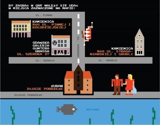 В сети появилась восьмибитная олдскульная игра про Гданьск