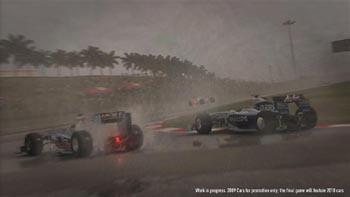 Первое видео гоночного симулятора F1 2010