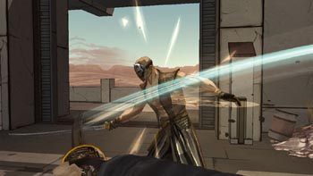 Видео Red Steel 2 демонстрирующее работу Wii MotionPlus