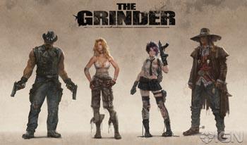 Видео геймплея The Grinder для Xbox 360 и PlayStation 3