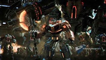Видео проекта Transformers: War for Cybertron
