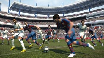 Видео геймплея Pro Evolution Soccer 2011