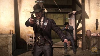Геймплей мультиплеера Red Dead Redemption